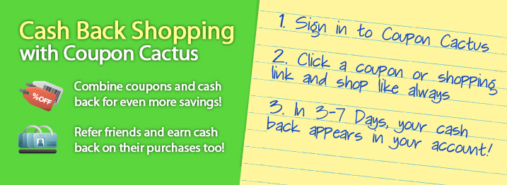 CouponCactus Cash Back